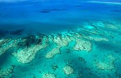 障碍极大的礁石 图库摄影