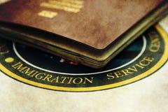 иммиграция Стоковая Фотография