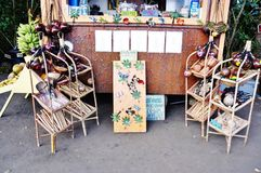 Красочное положение Мауи Гавайских островов сельского рынка Стоковое Изображение RF