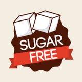 свободный сахар Стоковые Фотографии RF