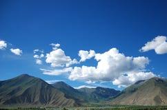 Пейзаж Тибета Стоковое Фото