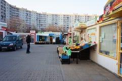 Μικρά καταστήματα και καταστήματα Στοκ εικόνα με δικαίωμα ελεύθερης χρήσης