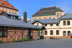 市政工程博物馆在克拉科夫,波兰 免版税库存图片