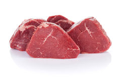 Мясо говядины стейка филе Стоковая Фотография RF