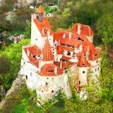 κάστρο Ρουμανία πίτουρου Στοκ Φωτογραφίες