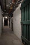 可怕的地下室 免版税库存图片