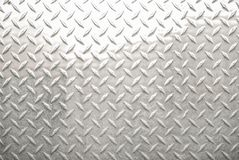 Предпосылка металлического листа диаманта Стоковая Фотография RF