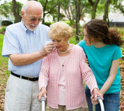 инвалидность нажатия Стоковое Изображение RF