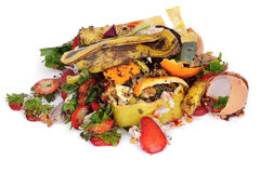 食品废弃部 库存图片
