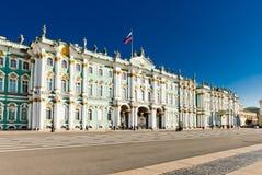 冬宫,埃尔米塔日博物馆在圣彼得堡, 免版税库存照片