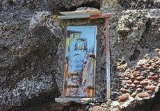 πόρτα σκουριασμένη Στοκ Φωτογραφία