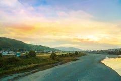 Сцена от окраины Осака Стоковые Фото