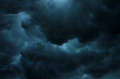 风雨如磐的天空 库存图片