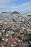 Στέγες της Αθήνας Στοκ φωτογραφίες με δικαίωμα ελεύθερης χρήσης