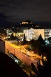 Το Κοινοβούλιο τη νύχτα Στοκ εικόνες με δικαίωμα ελεύθερης χρήσης