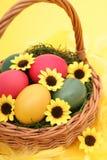 篮子复活节 库存照片