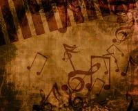 音乐背景 库存图片