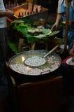 泰国食物的街道 图库摄影