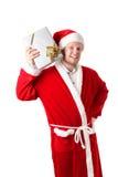 新圣诞老人 免版税库存图片