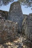 极大的津巴布韦废墟 库存图片