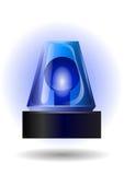 голубое мигающего огня Стоковая Фотография RF