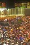 芝加哥期货交易所的交易场地,芝加哥,伊利诺伊 免版税图库摄影