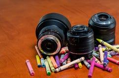 创造性的五颜六色的摄影 免版税库存照片