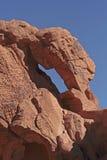 被腐蚀的岩石细节 免版税图库摄影