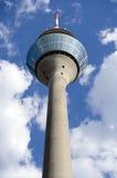 杜塞尔多夫莱茵河塔 免版税库存图片