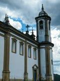 活历史的欧鲁普雷图(米纳斯吉拉斯州-巴西) 免版税库存照片