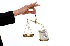 卢比硬币和印地安货币笔记 免版税库存图片