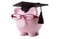 毕业生存钱罐 免版税库存图片