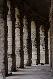 剧院马尔塞洛,罗马的古色古香的专栏 免版税库存照片