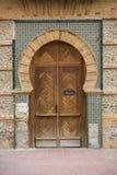 古老门,摩洛哥 免版税库存照片