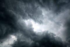 Δραματικό υπόβαθρο σύννεφων Στοκ Φωτογραφία