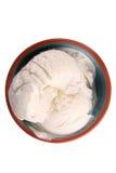 香子兰豆冰淇凌 免版税库存照片