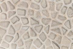 石装饰瓦片纹理 免版税库存图片
