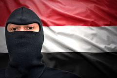 也门危险 库存图片