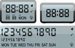 ρολόι συναγερμών ψηφιακό Στοκ εικόνα με δικαίωμα ελεύθερης χρήσης