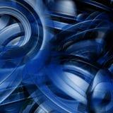 абстрактные голубые формы Стоковые Изображения RF