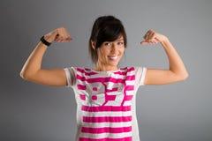 сильная женщина Стоковая Фотография