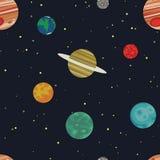 Διαστημικό σκηνικό Στοκ εικόνα με δικαίωμα ελεύθερης χρήσης