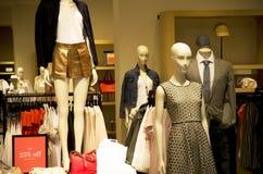 λεωφόρος καταστημάτων μόδας Στοκ Εικόνες
