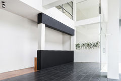 Интерьер стиля современной архитектуры минимальный Стоковое Фото