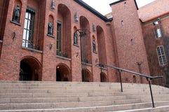 Αίθουσα πόλεων της Στοκχόλμης Στοκ Φωτογραφία