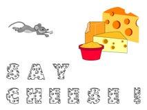 το τυρί λέει Στοκ εικόνες με δικαίωμα ελεύθερης χρήσης