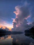 云彩积云耸立 图库摄影