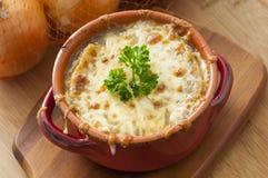 французский суп лука Стоковые Фотографии RF
