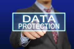 Προστασία δεδομένων Στοκ Εικόνες