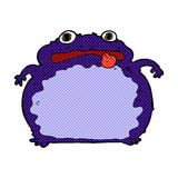 лягушка шуточного шаржа смешная Стоковые Фотографии RF